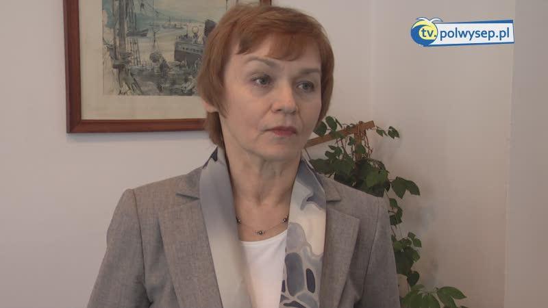 """Romualda Białkowska - Prezes P.P. i U.R. """"Szkuner"""""""