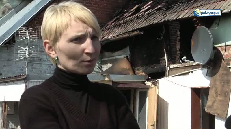 Spłonął dom na Danie: rodzina bez środków do życia