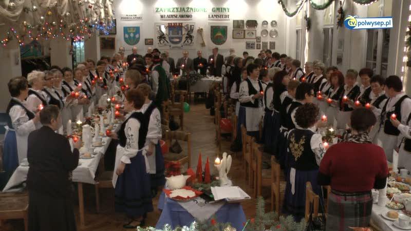 Spotkanie opłatkowe Koła Gospodyń Wiejskich z Władysławowa
