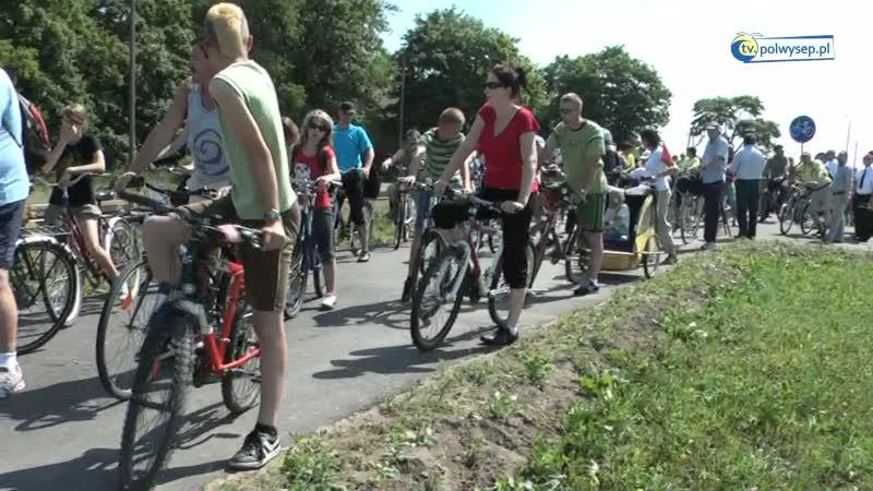 Otwarcie ścieżki rowerowej Swarzewo - Krokowa