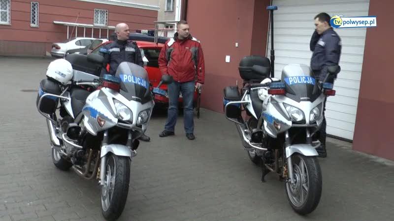 KPP w Pucku otrzymała nowe motocykle