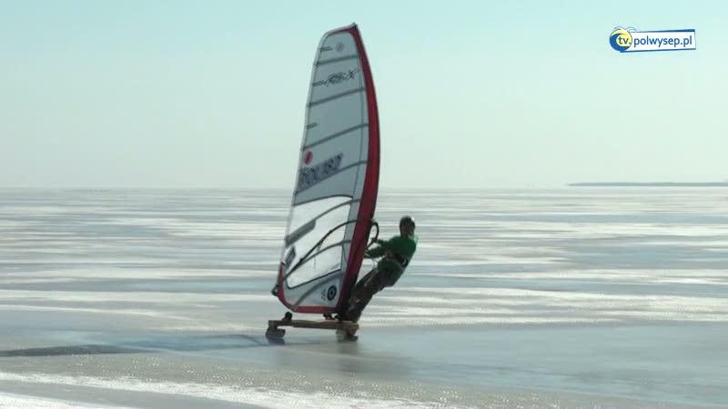 Zima nad Zatoką Pucką